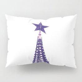 Kremlin Chimes-violet Pillow Sham