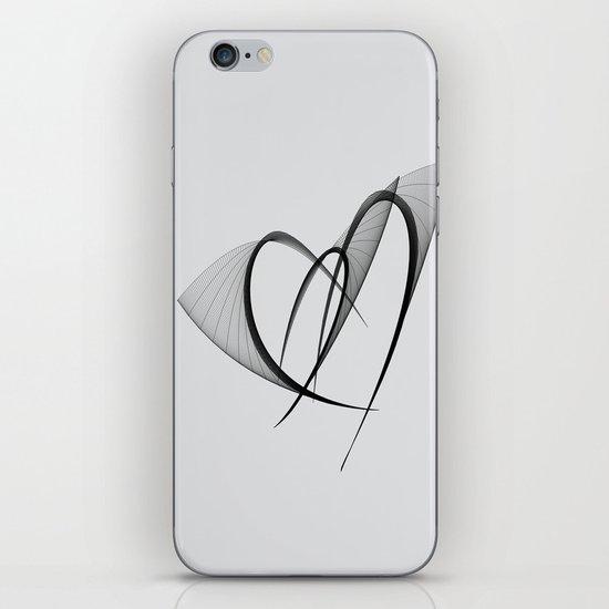 fluttering hearts iPhone & iPod Skin