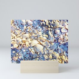 Crushed Seashell Mini Art Print