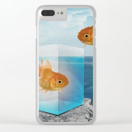 Horatio by the Sea - Goldfish Clear iPhone Case