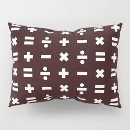 Math Pattern Pillow Sham