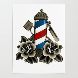Barber's Life Poster