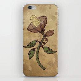 Steampunk Flower iPhone Skin