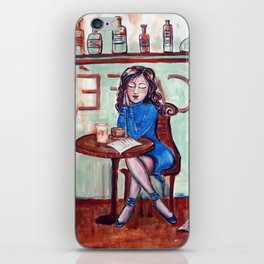 Cafe Quotidien iPhone Skin