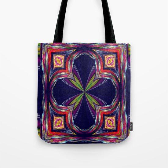 Colorful Square Tote Bag
