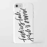 ysl iPhone & iPod Cases featuring Style is Eternal by Megan Carty