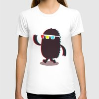 monster T-shirts featuring MONSTER 3d by Monster Riot