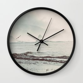 Great American Road Trip - Oregon Coast Wall Clock