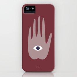 hamsa I iPhone Case