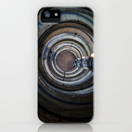 Spiral stairs in an old lighthouse iPhone Case