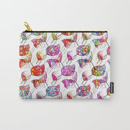 Stained Hummers Carry-All Pouch
