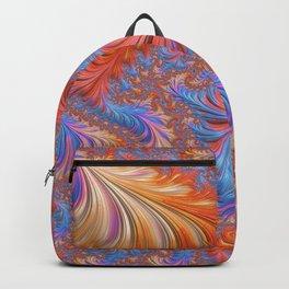 vibrant fractal Backpack