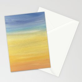 Desert sunset collection Stationery Cards