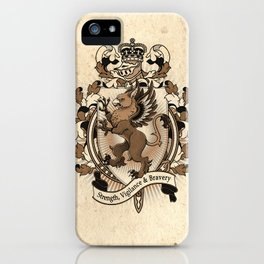 Gryphon Coat Of Arms Heraldry iPhone Case