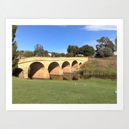 Richmond Bridge Art Print