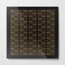G Pattern Duece Metal Print