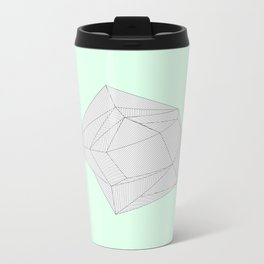 It's Only Lines Metal Travel Mug