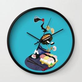 Food of Japan Wall Clock