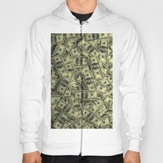 100 dollar cash get rich Hoody