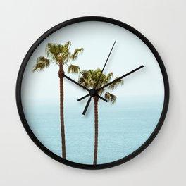 Morning in Laguna Beach Wall Clock