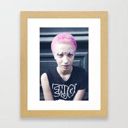 Pony Mahem Framed Art Print