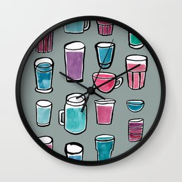 Feelin Thisty Wall Clock