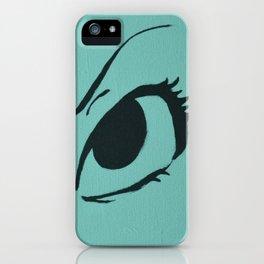 Intrigue in SEAFOAM iPhone Case