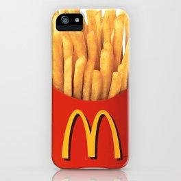 Mc Donalds Fries iPhone Case
