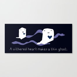 Ghost Heart Canvas Print