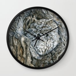 Camouflaged by Teresa Thompson Wall Clock