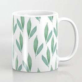 floral, leafs Coffee Mug