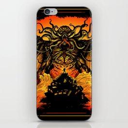 Winged God Monster iPhone Skin
