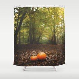 Family Pumpkin Shower Curtain