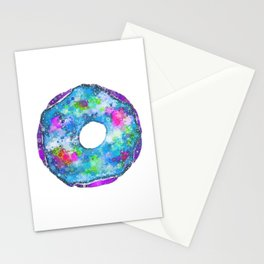 Psychedelic Phrosted Doughnut Baker's Dozen #2 Stationery Cards