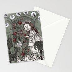 When it Snows Outside (My Secret Garden) Stationery Cards