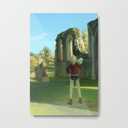FGO: Glastonbury Metal Print