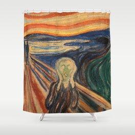 O GRITO Shower Curtain