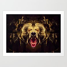 Hungry for blood Art Print
