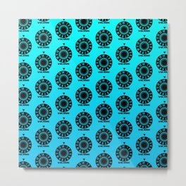 Volume Pattern Metal Print