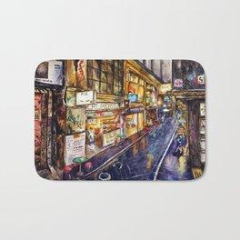 Melbourne Streetscape Bath Mat