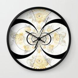Apleph Fractal Mandala Wall Clock
