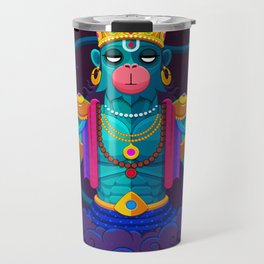 Summoning Hanuman Travel Mug