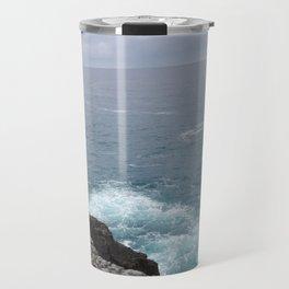 Cold cantabrian sea Travel Mug