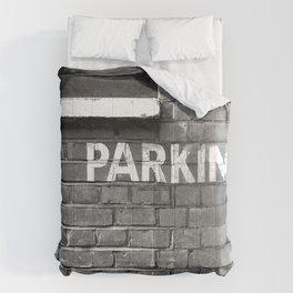 No parking Comforters
