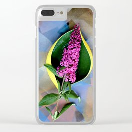 Anthurium Fantasy Clear iPhone Case
