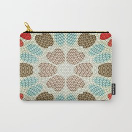 Retro Paper Carry-All Pouch