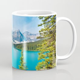 Lake Moraine, Alberta, Canada Coffee Mug