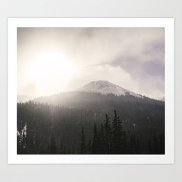 Colorado Mountain Pass Art Print