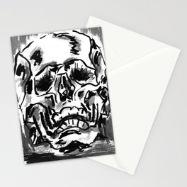 Simple skull day Stationery Cards