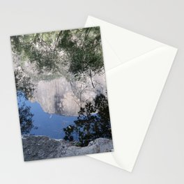 Reflection of Half Dome Stationery Cards